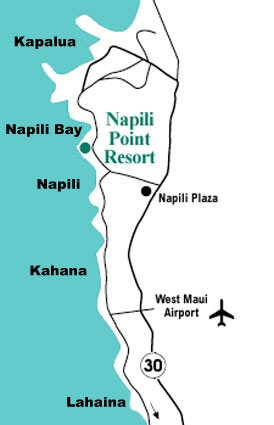 Directions to Napili Point Resort